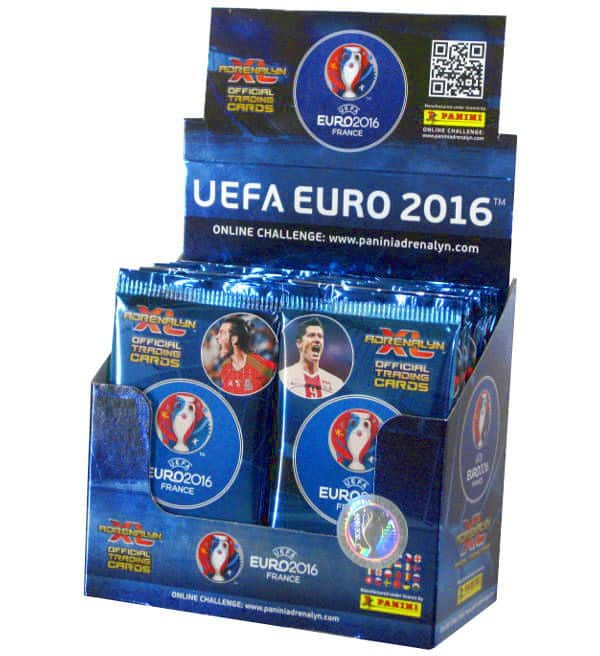 Panini Adrenalyn XL EURO 2016 scatola con 50 Boostern