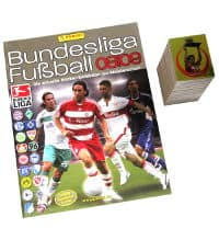 Panini calcio 2008-2009 Set - tutti Sticker + Album