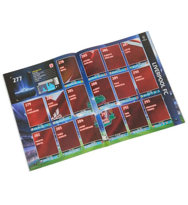 Panini Champions League 2009-2010 album interna