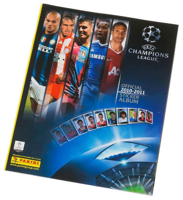 Panini Champions League 2010-2011 album anteriore