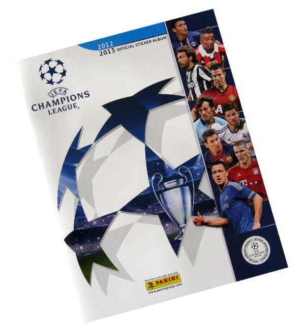 Panini Champions League 2012-2013 album