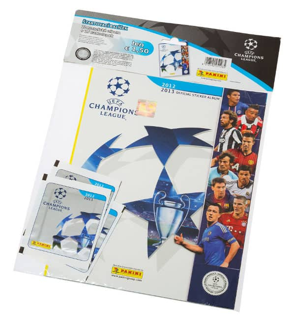 Panini Champions League 2012-2013 starter set