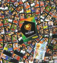 Panini EURO 2004 Mini Stickers Set Completo +  Album