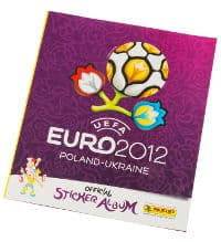 Panini EURO 2012 album sticker internationale