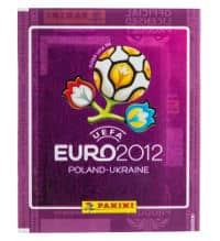 Panini EURO 2012 bustina viola internationale
