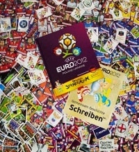 Panini EURO 2012 Deluxe Set - tutti sticker + Hardcover Album