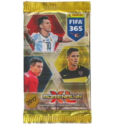 Panini FIFA 365 2017 Adrenalyn XL Booster con 6 Cards