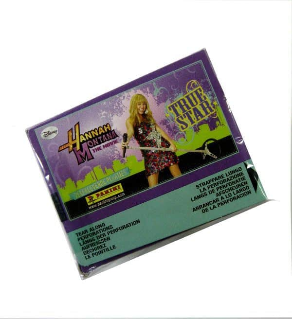 Panini Hannah Montana True Star scatola - box superiore