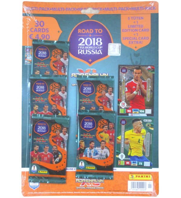 Panini Road to Russia 2018 Adrenalyn XL Multi Pack