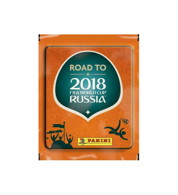 Panini Road to World Cup 2018 bustina