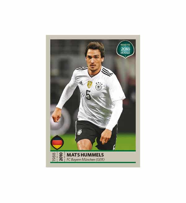 Panini Road to World Cup 2018 figurine Mats Hummels