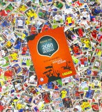 Panini Road to World Cup 2018 set completo + album vuoto
