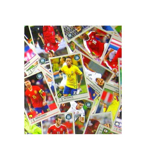 Panini Road to World Cup 2018 set completo