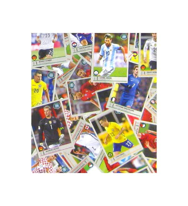 Panini Road to World Cup 2018 - tutti adesivi
