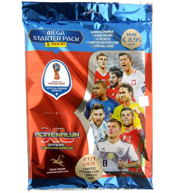 Panini Russia 2018 Adrenalyn XL Starter Pack