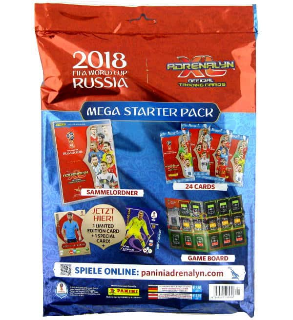 Panini Coppa del Mondo 2018 Adrenalyn XL Starter Set