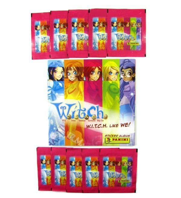 Panini Witch like we album - con 10 bustine