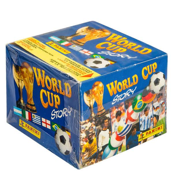 Panini World Cup Story box - scatolaanteriore