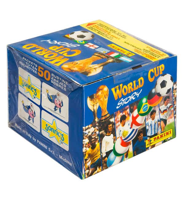 Panini World Cup Story box - scatola pagina