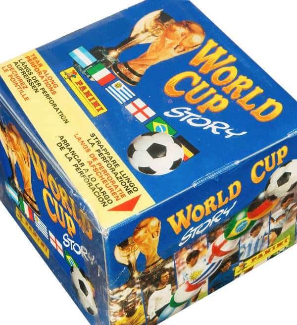 Panini World Cup Story box - scatola di superiore