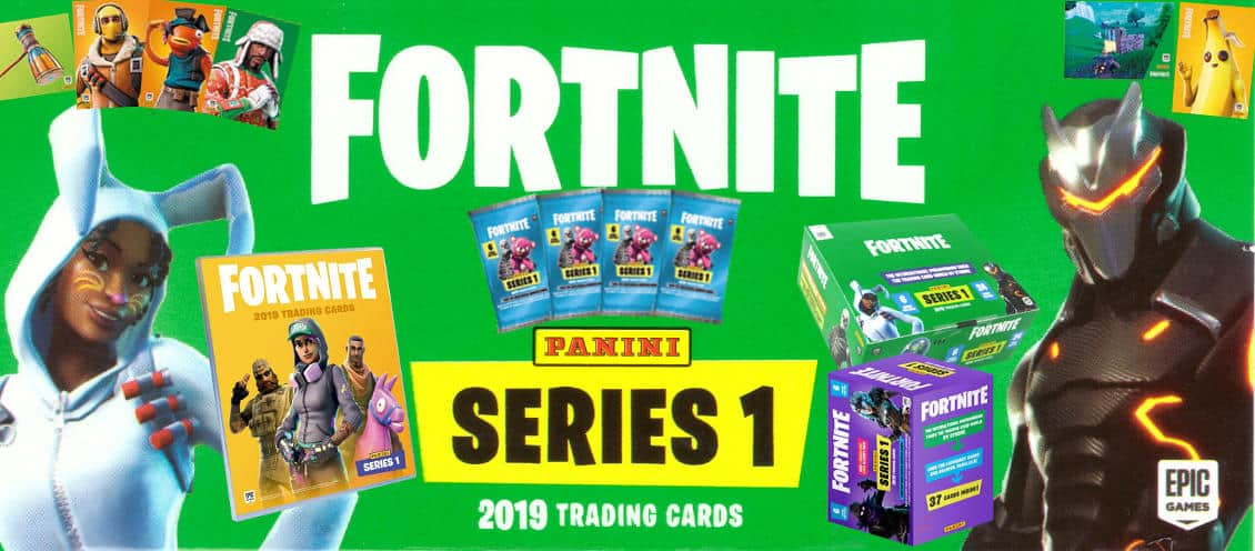 Panini Fortnite Trading Cards Series 1 2019