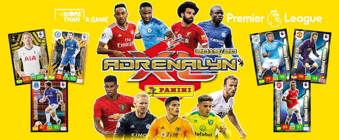 Panini Premier League Adrenalyn XL Trading Cards