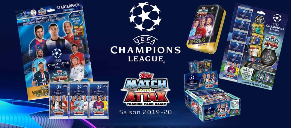 Topps Champions League Match Attax 2019 2020