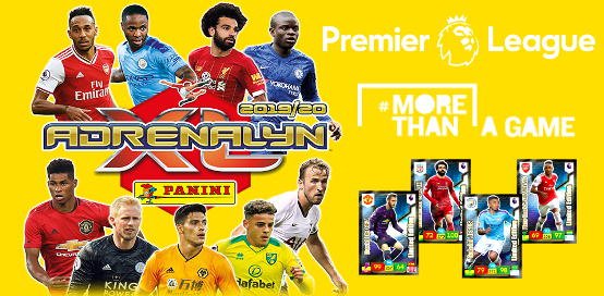 Panini Premier League 2019-2020 Adrenalyn XL