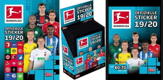 Topps Bundesliga Stickers 2019-2020