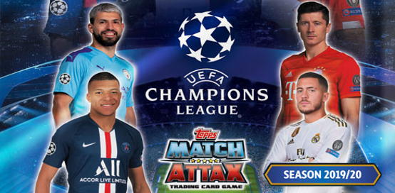 Topps Champions League Match Attax 2019-2020