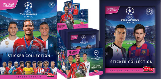 Topps Champions League Figurine 2019-2020