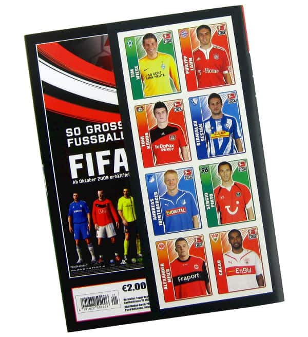 Topps Bundesliga 2009 / 2010 Album - Retro