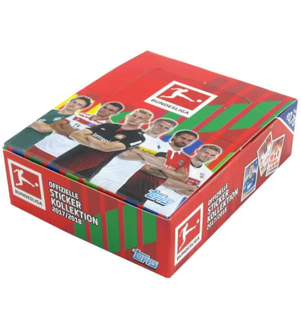 Topps Bundesliga Figurine 2017 2018 box
