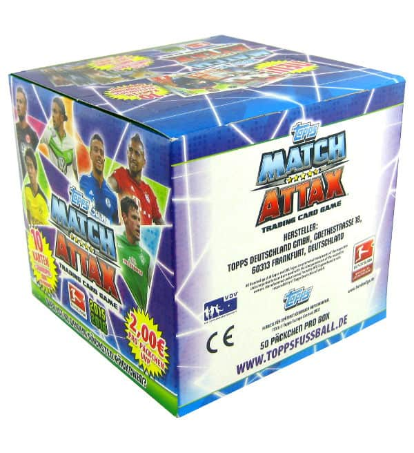 Topps Bundesliga Match Attax 2015 / 2016 500 Cards