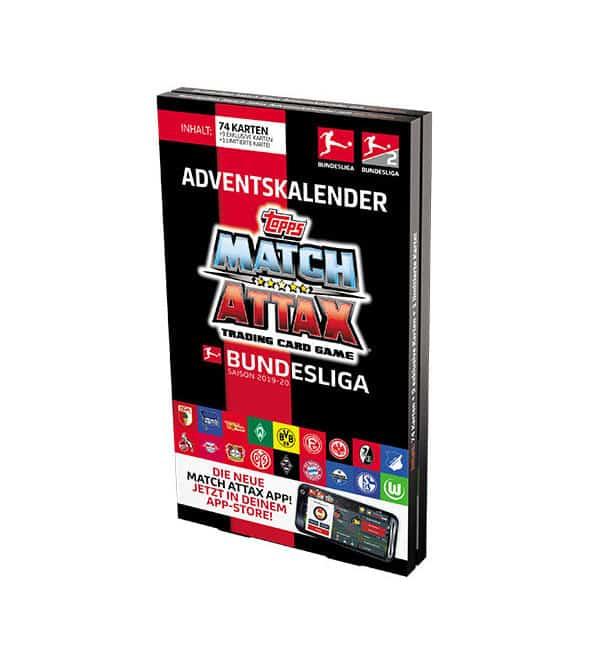 Bundesliga Calendario.Topps Bundesliga Match Attax 2019 20 Calendario Dell Avvento