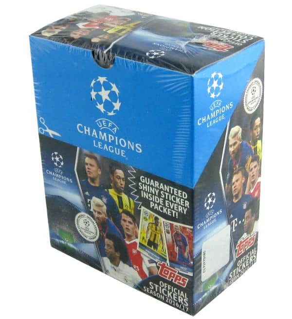 Topps Champions League Figurine 2016 / 2017 Display