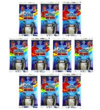 Topps Champions League Match Attax 17 / 18 - 10 Bustine