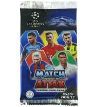 Topps Champions League Match Attax 2016 / 2017 bustina