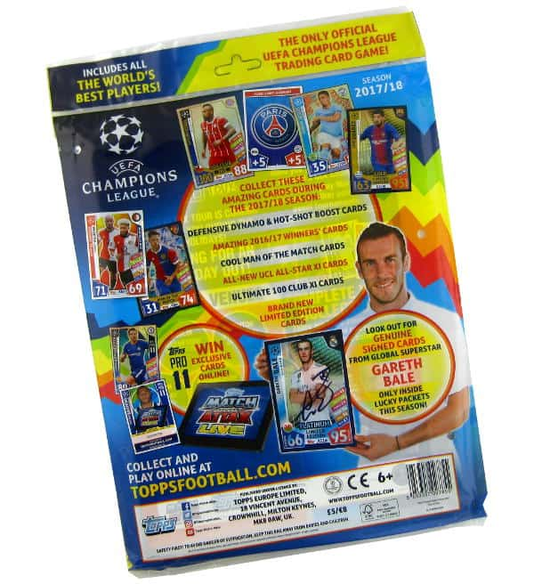 Topps Champions League Match Attax 2017 / 2018 Starter Set