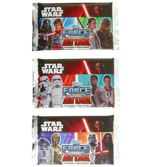 Topps Star Wars Force Attax Ep. 7 - Bustine